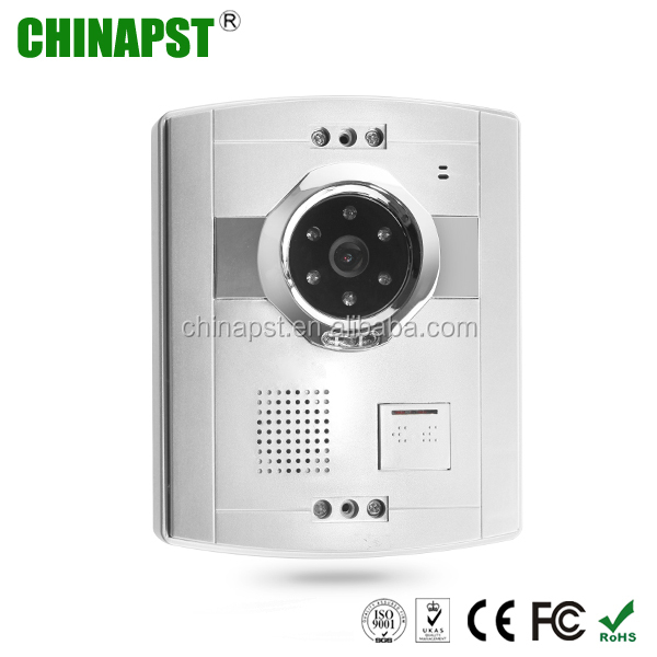 Motion sensor night vision Network ip video doorbell for home security PST-VD906C