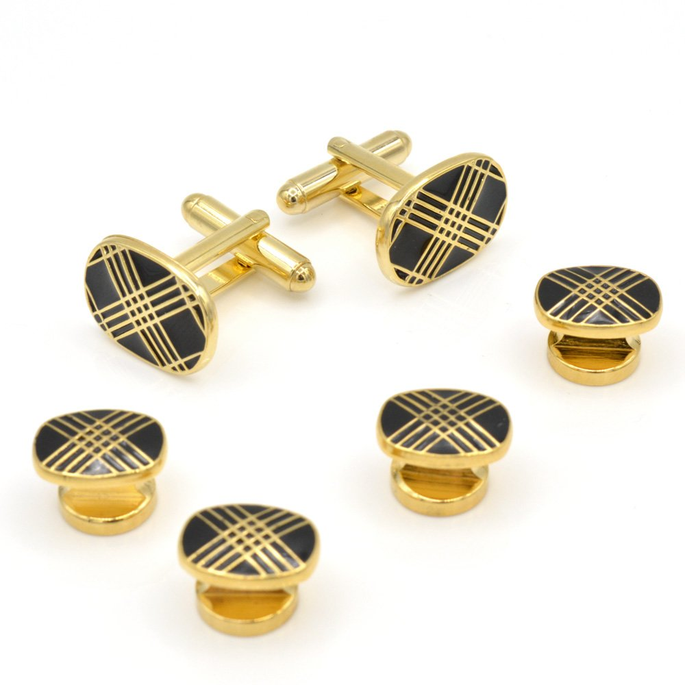 JJ Weston Music Note Cufflinks Made in The USA.
