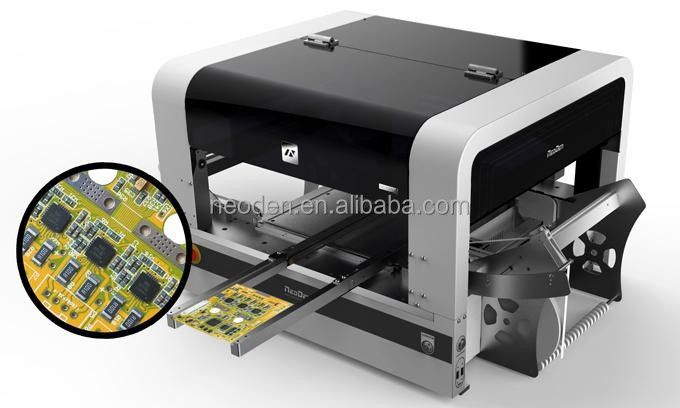 desktop smd pick and place mounting machine,pcb manufacturing equipment-NeoDen4,excellent performance, high accuracy
