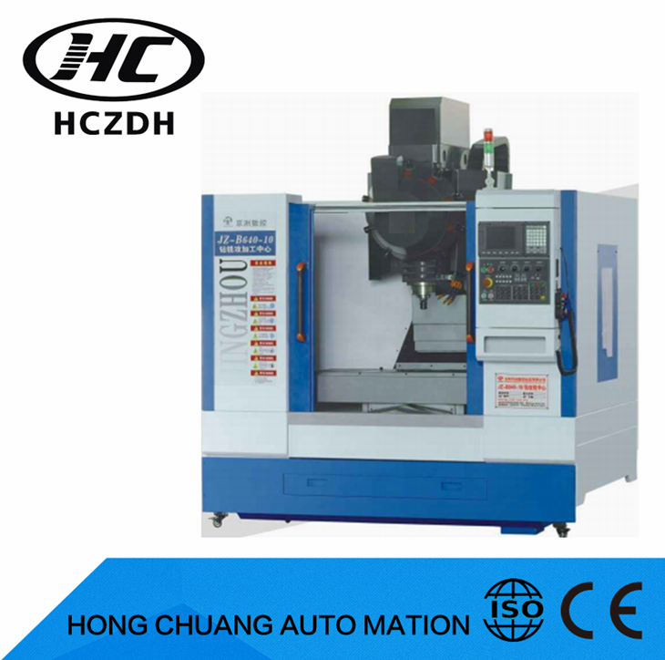 JZ-B640-10 Metal milling/drilling/tapping cnc milling machine for metal