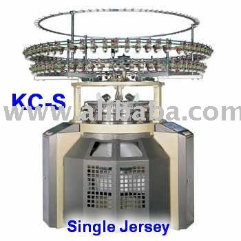 4 Tracks Single Jersey Circular Knitting Machine