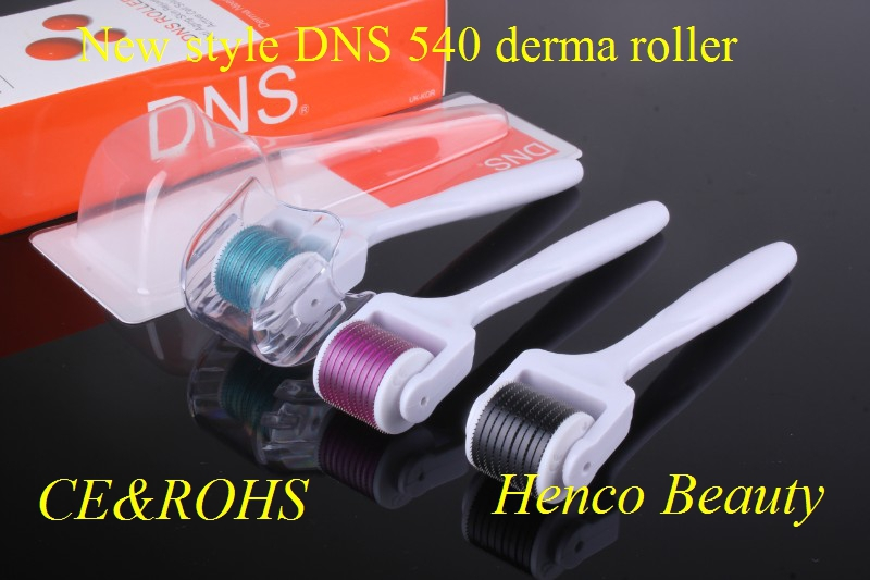 derma rollers with titanium needles New Arrival Derma roller with silver handle DNS series derma roller