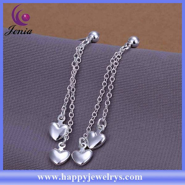 new popular hot selling good quality 925 silver plated sterling silver chandelier earrings CE248