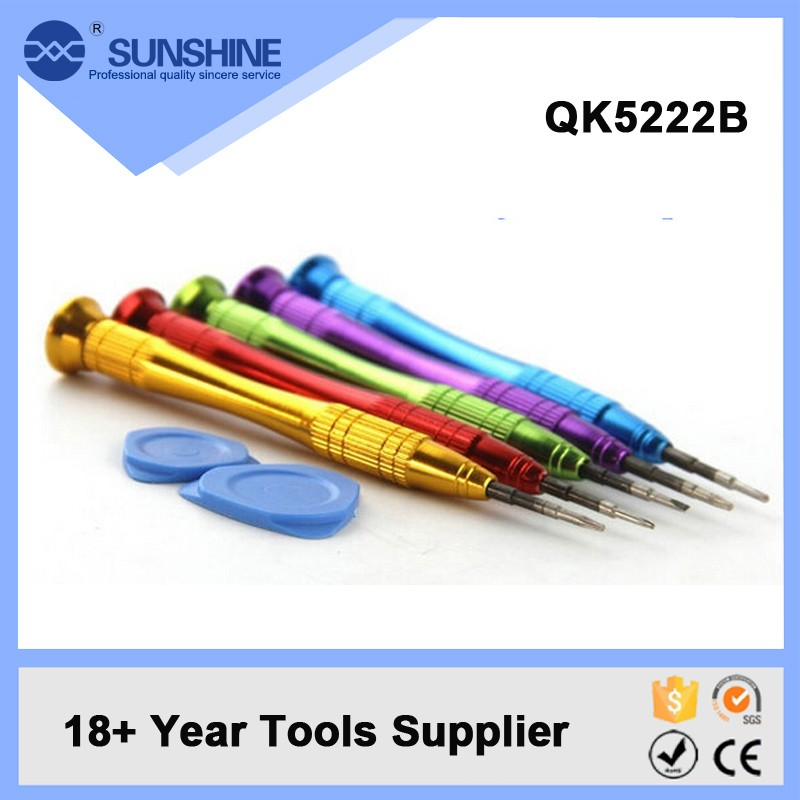 Wholesale Price Mechanical Alloy Handle Precision Screwdriver Set For Mobile Phone Repair