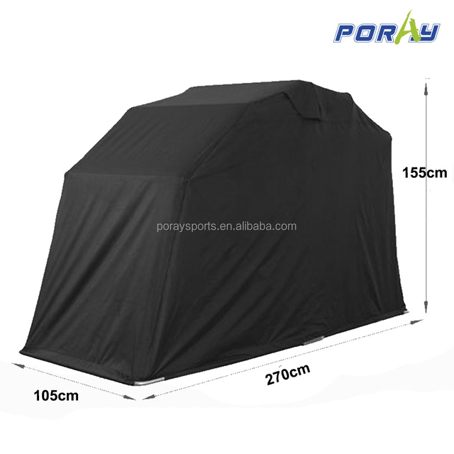 Outdoor Motorbike Bike Tent Cover Shed Strong Frame Storage Garage Weatherproof Motorcycle Moped Mobility Scooter