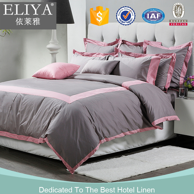 Comfortable 100% Cotton Wedding Hotel Bedding Set,cotton Bed Sheets  Wholesale For Cheap Hotel