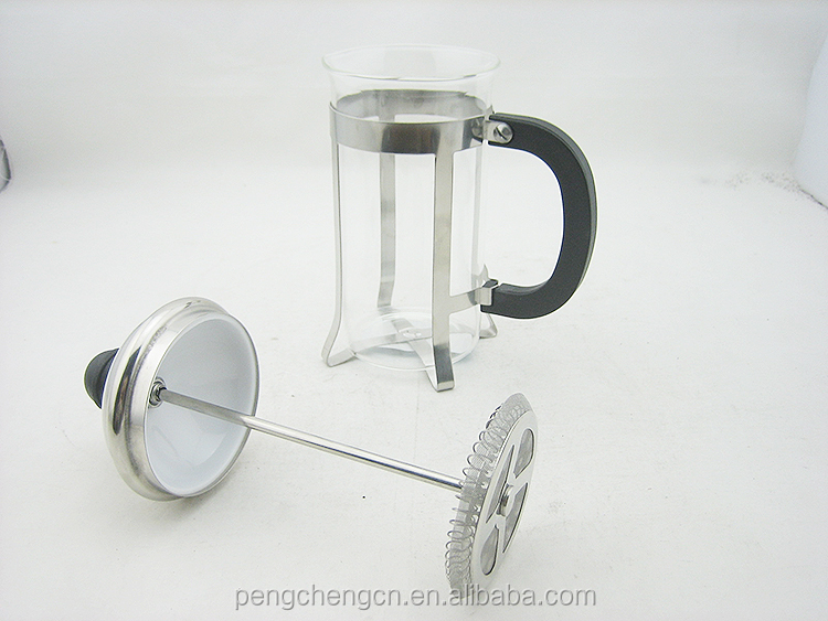 direct factory price pyrex glass tea coffee plunger french press coffee maker