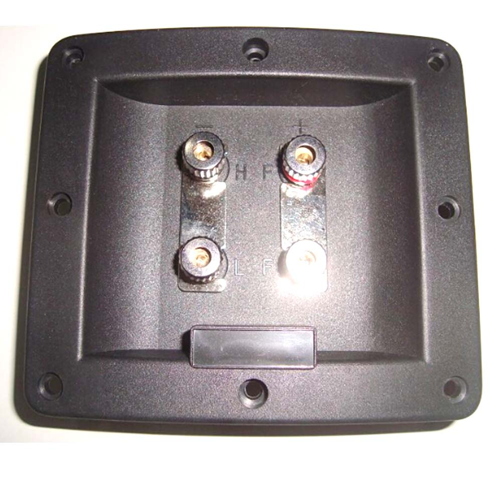 BOX MOUNT WITH 2 MOUNTING HOLES # PTB4 SPEAKER TERMINAL 4 POSITION 1 PIECE