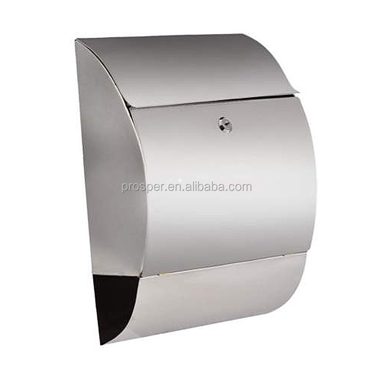 Wall Mounted Stainless Steel Mailbox, Wall Mounted Stainless Steel Mailbox  Suppliers And Manufacturers At Alibaba.com