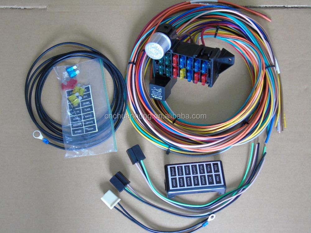 Ez Wiring 21 Circuit Wiring Harness Painless To Install Ez Wiring 21