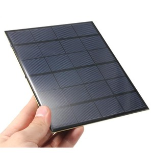 DIY 6V 5W Semi Flexible Solar Panel For Mobile Phone Charger