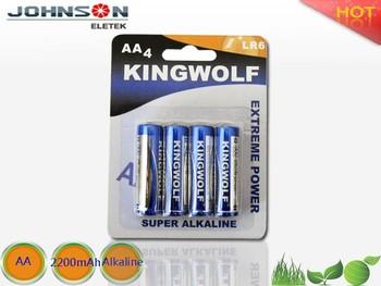 China Suppliers Lr6/l40 Alkaline Batteries