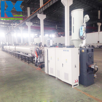 2017 best selling PE HDPE seamless pipe manufacturing production making extruding machine on prime price with turnkey project
