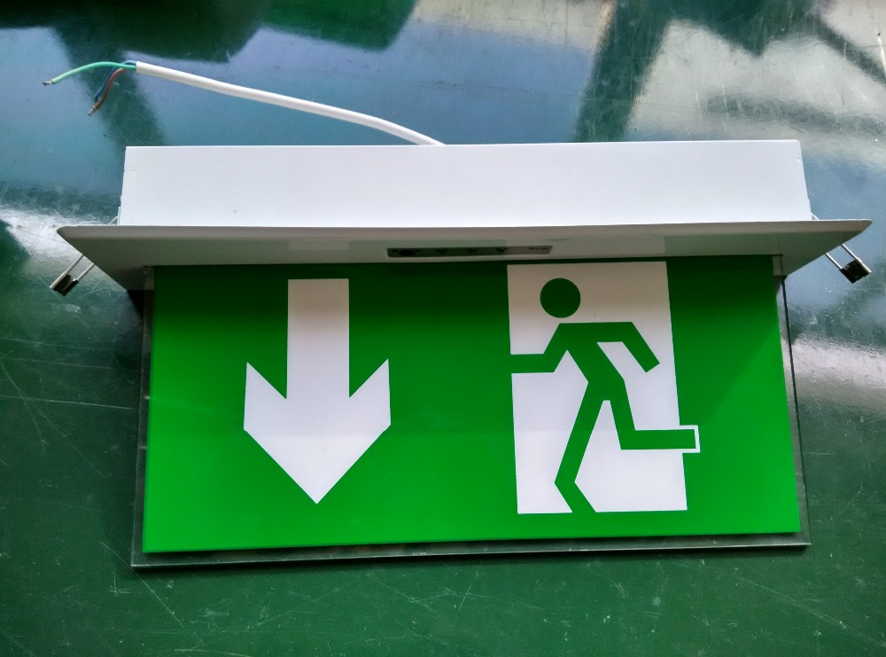 Rechargeable Led Emergency Exit Lights Sign