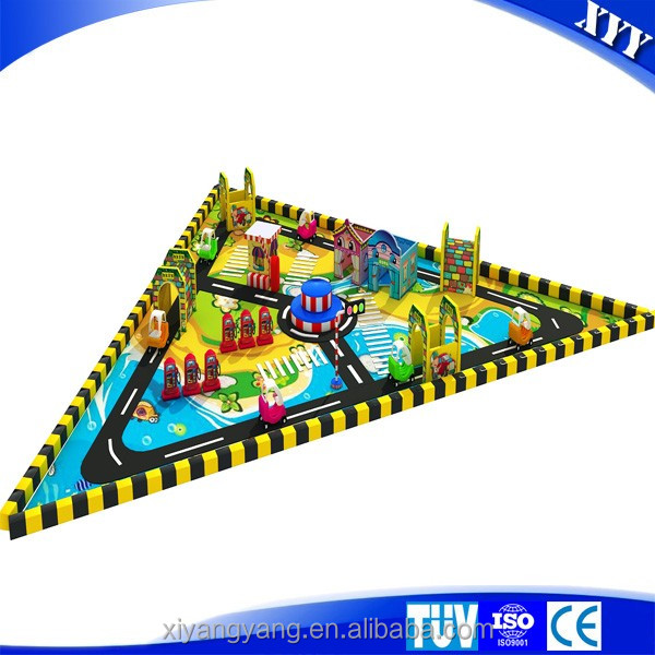 Best quality mini traffic town kids indoor playground for sale