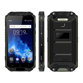 POPTEL P9000 Max 5.5 Inch IP68 Waterproof 9000mAh Battery NFC Rugged Smartphone Android