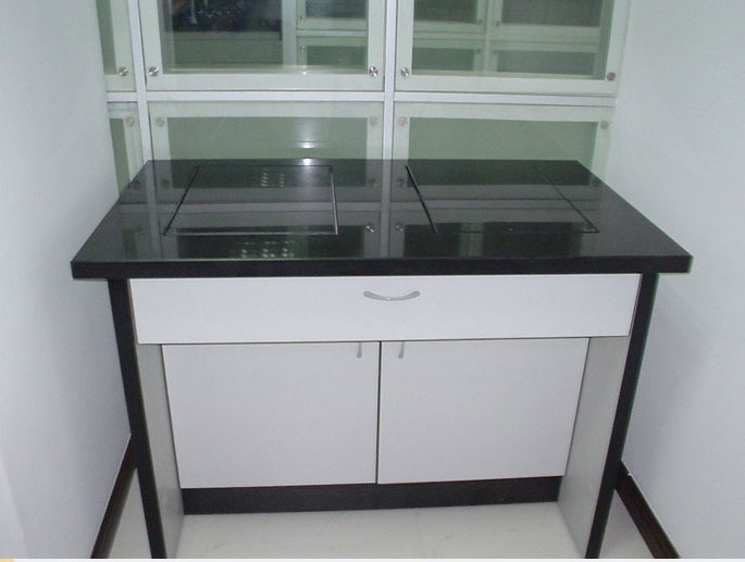 Tmoon Steel Lab Structure Balance Table Natural Marble Table