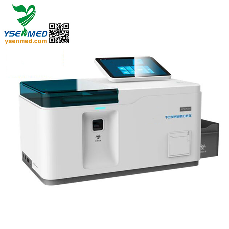YSTE-FIA12 Hospital Hot Sale Multi-channel FIA Quantitative POCT Immunoassay System