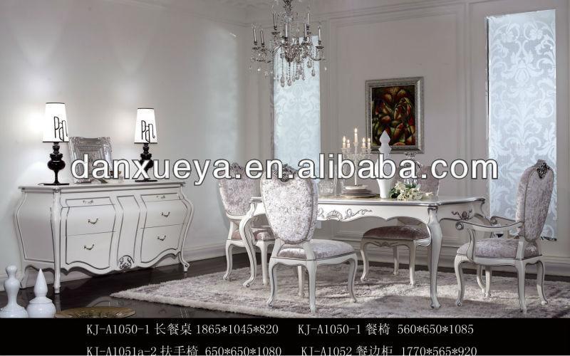 Fran ais style baroque manger meubles de salle manger - Salle a manger baroque ...