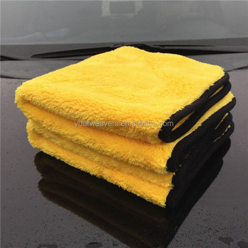 500gsm voiture soins produits en peluche microfibre lavage. Black Bedroom Furniture Sets. Home Design Ideas
