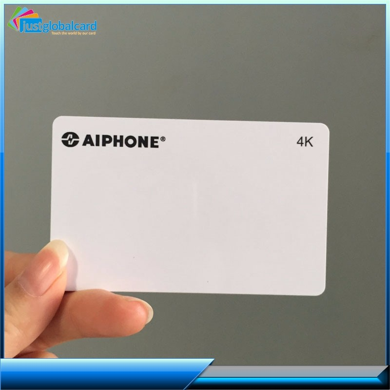 4C Color Offset Print PET/PVC Smart Card Factory 125khz/13.56mhz Rfid Card Customized Staff Id Card