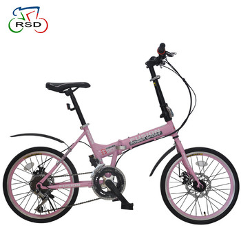 "top one folding bike 20"" ,china factory direct sale cheap rigid carbon frame bike folding, lightweight aluminum folding bike"