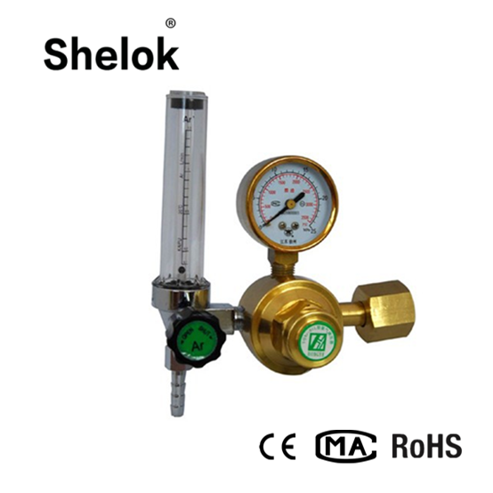 brass argon gas pressure regulator