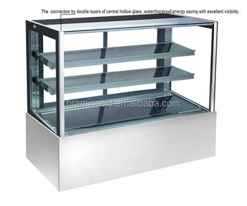 Cake And Donut Glass Display Showcase Cabinet/ European-stype ...