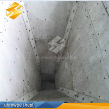 Customized polyethylene liner/non-stick chute liner UHMWPE/HDPE sheet/plate/panel/board, China plastic product