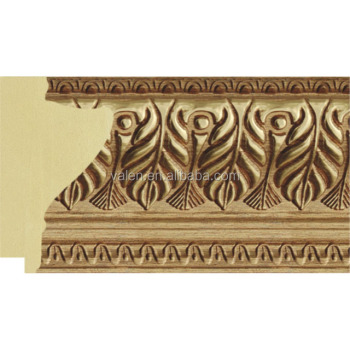 10cm Wide Ornate Gold Leaf Picture Frame Moulding Suppliers - Buy ...
