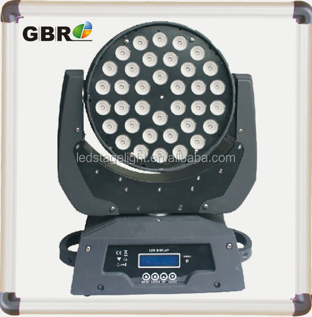 Dj BAR 36x10W 5 in 1 RGBWA Moving Head LED light