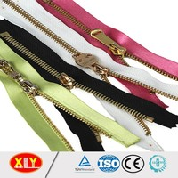 All length metal zippers top quality China zipper factory offer directly