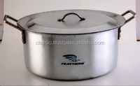 Big Size Aluminium Tope With S.s. Handle