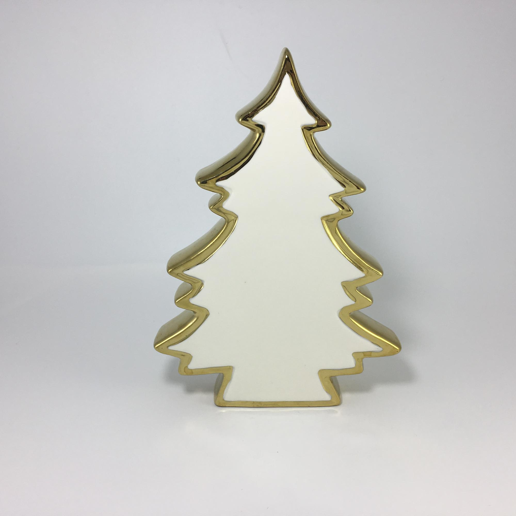 Hanging Ceramic Christmas House candle holder for decoration