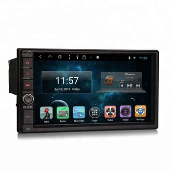 Erisin ES8270U 1 Din DVD Player/ 1 Din Multimedia/ Android Car DVD GPS with WiFi 4G DAB+DVR TPMS OBD BT GPS DTV
