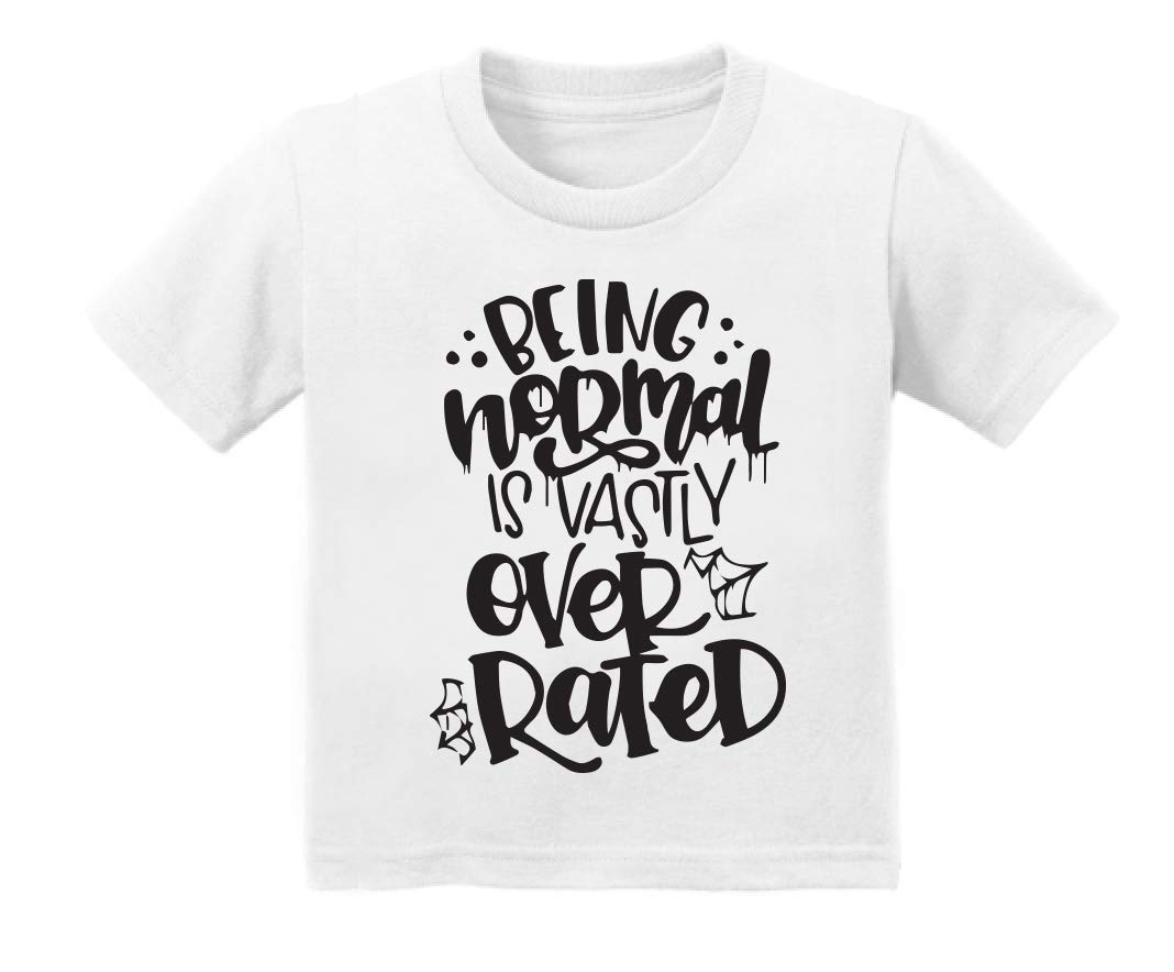 Being normal is vastly overrated, Stay Weird, Graphic Tee, Weirdo shirt, Funny adult tee, Trendy t-shirt, Shirt with words, cozy tee, girls, boys, halloween, goth