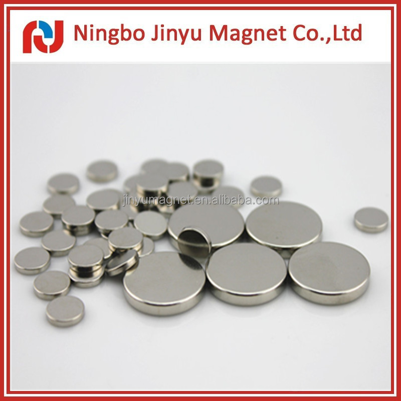 High Energy Flexible Strong N52 Neodymium Disc Magnets