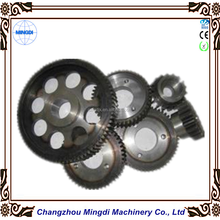 Customized Transmission Parts Steel Spur Gear / Cylindrical Gear for Paper Shredder