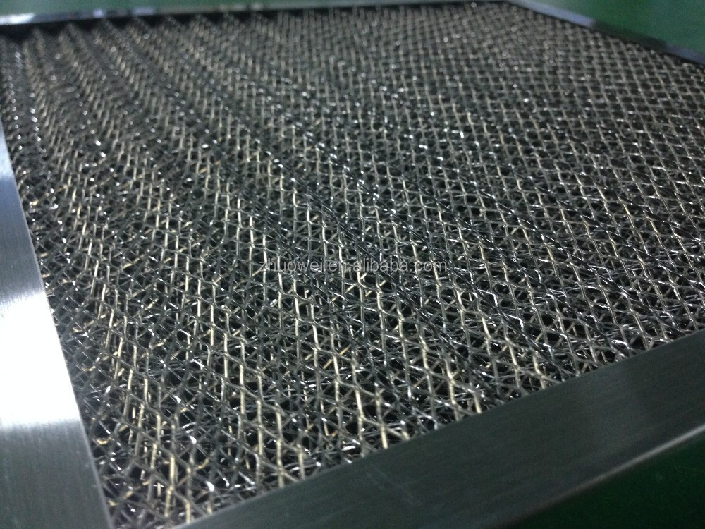 Lavable filtro de aire de malla met lica de aluminio - Filtro de malla ...