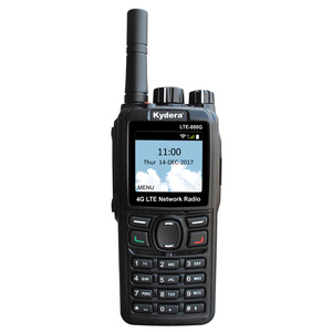 Kydera POC internet radio wifi mobile phone android 3g 4g radio walkie talkie LTE-880G with SMS & cell phones function