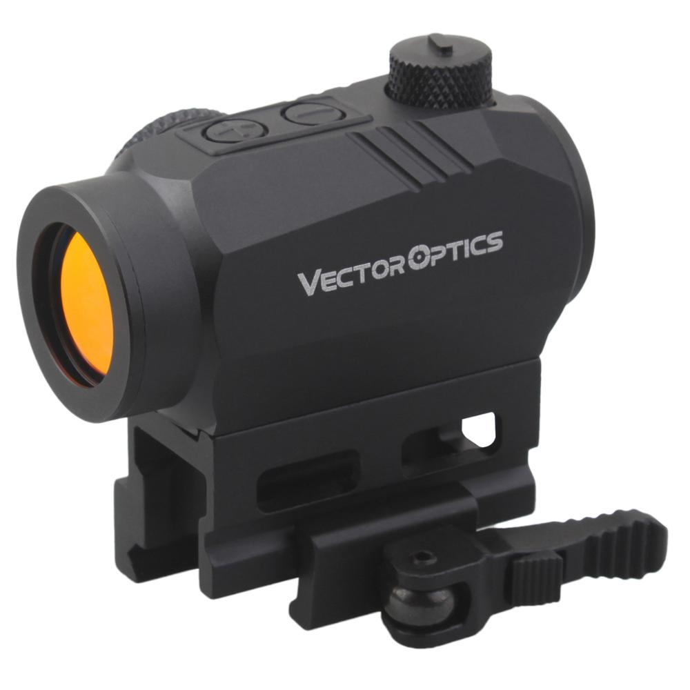Vector Optics Harpy 20000 Hours Run-time Red Dot Scope Red Dot Sight w/ QD Riser Mount