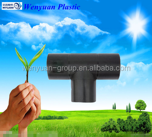 hot sale hdpe equal tee for pe pipe