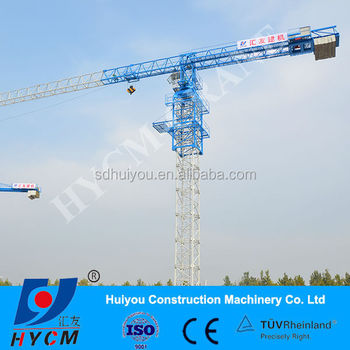 QTZ50/5010A topless tower crane