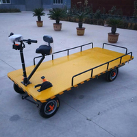360 Seat Moving Heavy Duty Loading Carry Hand Push Luggage Cart Warehouse Factory Electric Logistic Trolley Cart