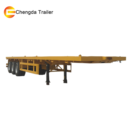 20ft 40ft container skeleton chassis trailer parts