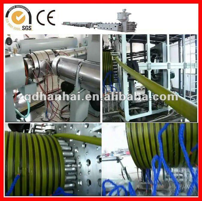 Hdpe/pe Spiral Welding Pipe Extruding Machine