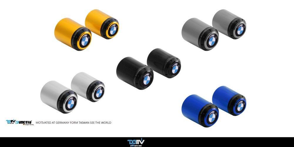Dimotiv Handlebar Cap for BMW K1300 GT 09-13, K1200 GT 06-08, R1200 RT 14-16, R1150 R/GS 00-06, R1150 GS ADV 01-05, R1100 GS 94-06, R1150 RT 01-04, R900 RT 05-09 (BLACK)