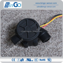 G3/8'' Water Flow Sensor, threading connection air and water flow sensor