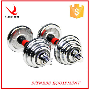 gold dumbbell weight manufacturer promotion personalized set gym