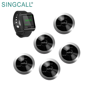 SINGCALL calling system restaurant wireless call button system